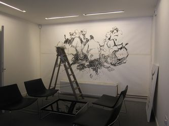 Launch , Installation View @ BPN Architects, 2011