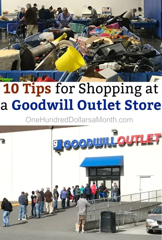 10 Tips for Shopping at a Goodwill Outlet Store #thriftstorefinds Thrift store shopping is multifaceted. Not only do you have your regular thrift stores, but you have the thrift store's thrift store, like the Goodwill Outlet Store. It's basically where all your non-sold or non sell-able thrift store castoffs land. Recently I went shopping at a Goodwill Outlet Store and had quite the experience. It … #thriftstorefinds