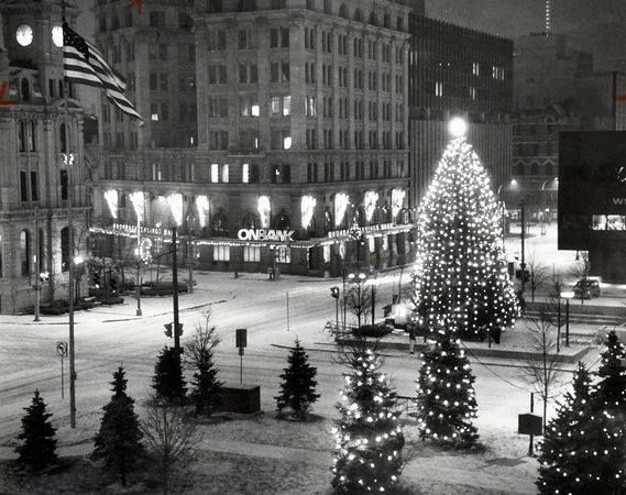 downtown Syracuse, NY | Christmas past, Vintage christmas ...