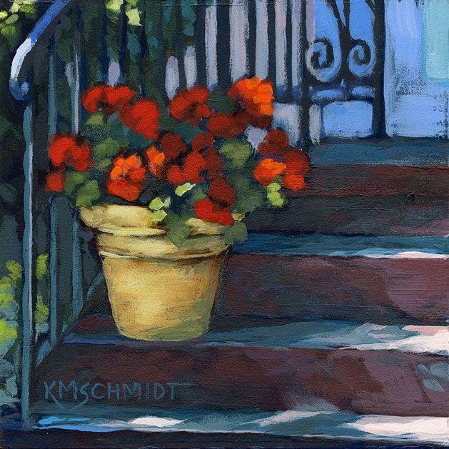 KMSchmidt Floral & Garden paintings