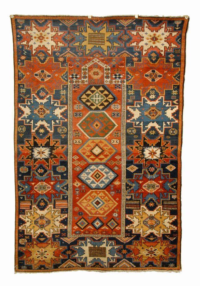 PERSISK KELIM GASHGAI Tappeto, tessitura piatta fatto a