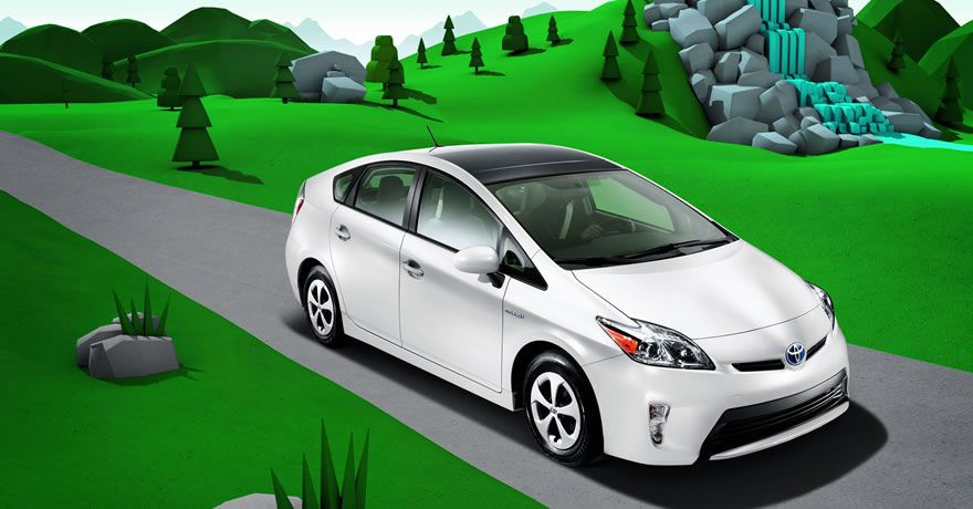Prius Four Shown In Blizzard Pearl I Want This In Green