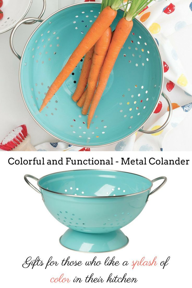 Colorful and functional: great for everything from berries to pasta ...