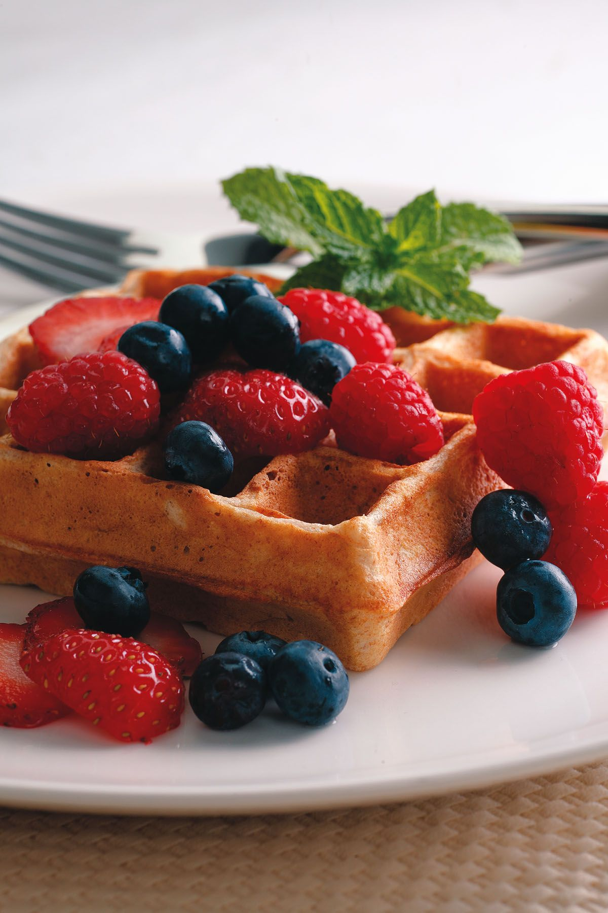 Waffles worth waking up for - and healthy too!