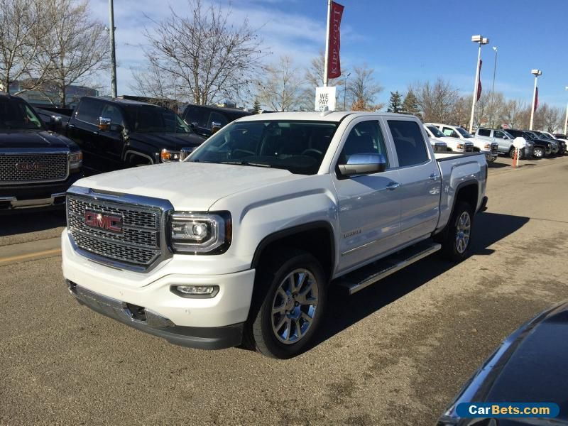 2016 Gmc Sierra 1500 Sierra Denali Crew 4x4 Sunroof Nav 20 S With