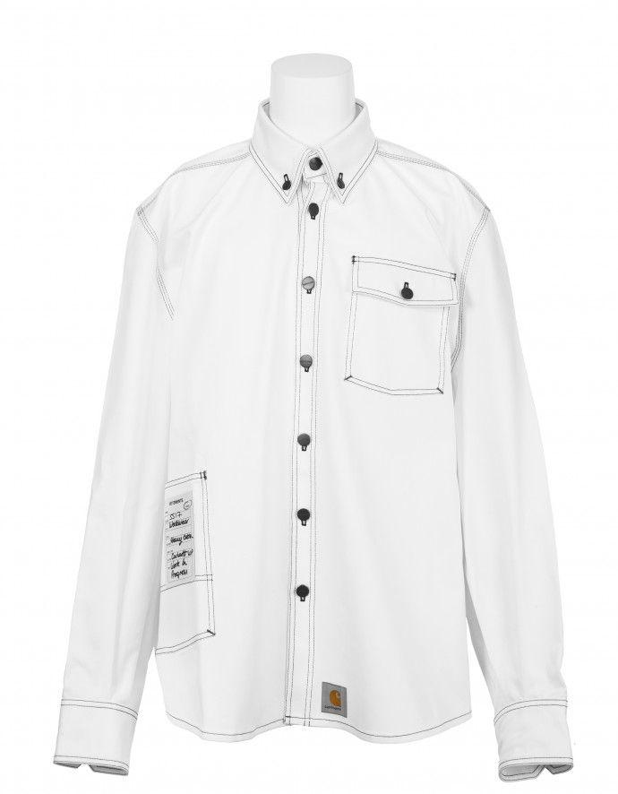 best value wholesale price special section Denim Shirt VETEMENTS x CARHARTT Denim Shirt | Vetements ...
