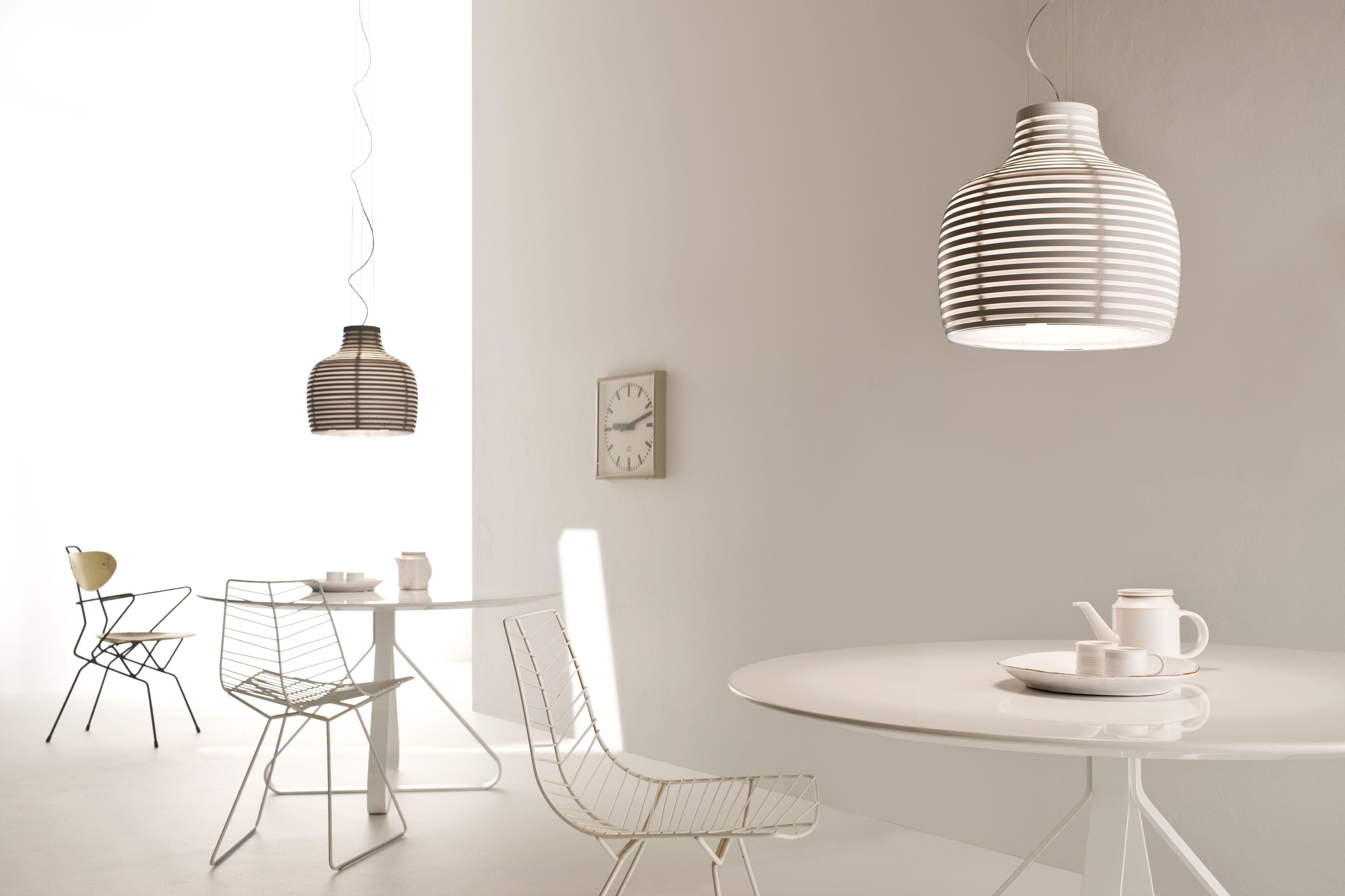 Suspension behive blanc foscarini décoration et mobilier design avec made in design