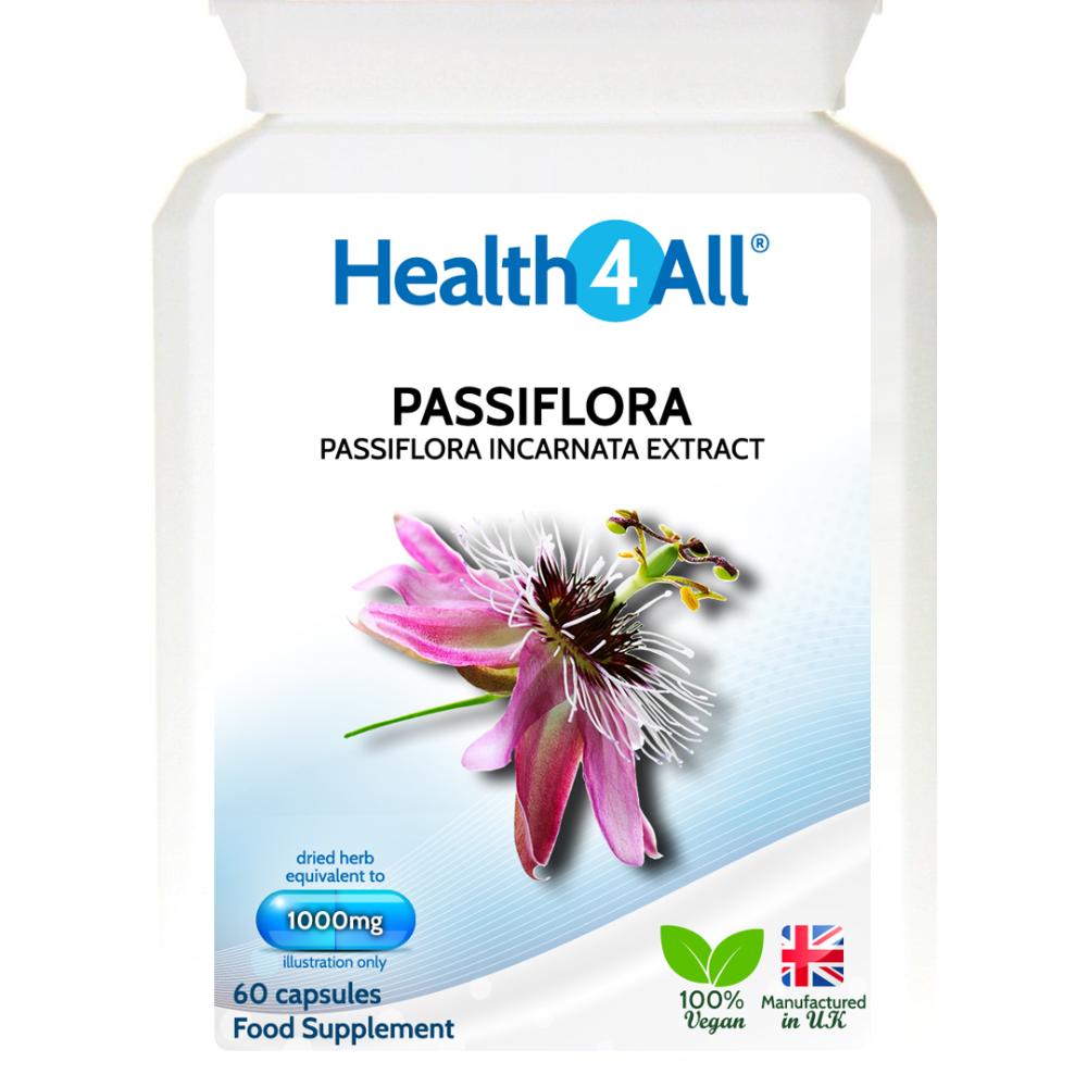 Passiflora Passionflower 1000mg Capsules Passiflora Drying Herbs Capsule
