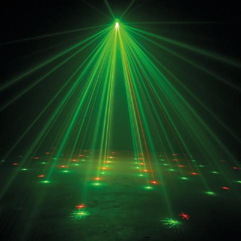 Laser Amazer Laser Party Lights Green Background Video Cool Illusions