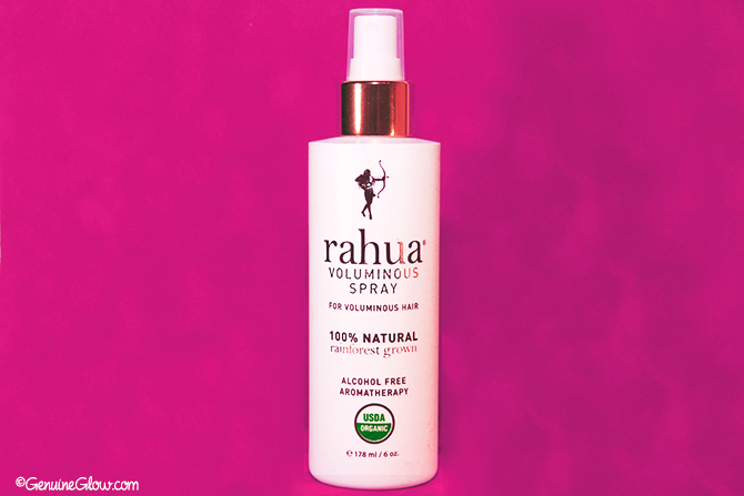 Rahua Voluminous Spray a review by Lilly GenuineGlow