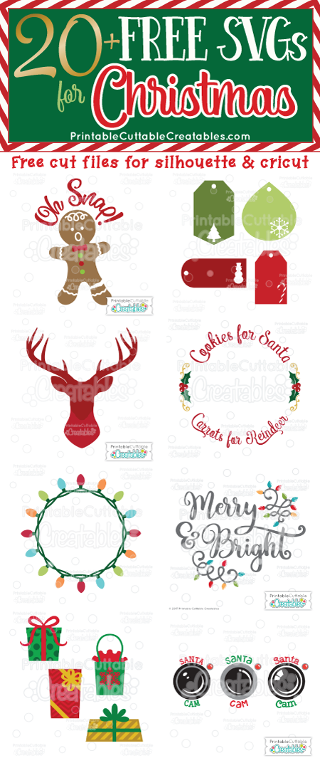 Pin on Christmas SVGs for Cricut and Silhouette Projects
