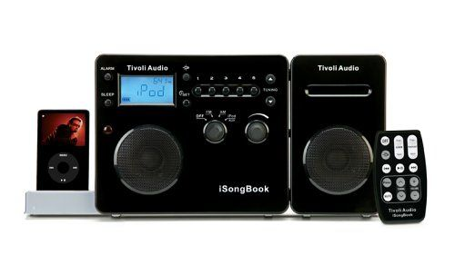 Tivoli Audio iSongBook Portable Music System for iPod (Black/Silver) (Discontinued by Manufacturer) Tivoli Audio http://www.amazon.com/dp/B000E7EJ3S/ref=cm_sw_r_pi_dp_41Wfub0814VZ4