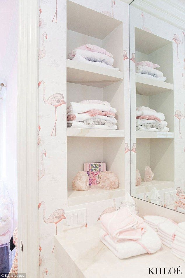 Inside Khloé Kardashian's VERY girly nursery Baby