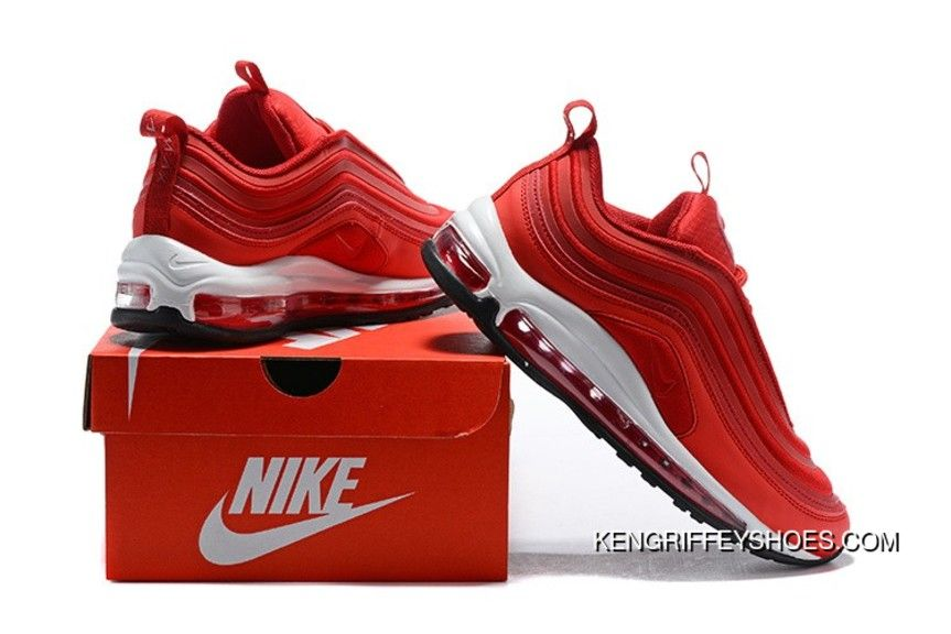 Nike Air Max 97 Ultra 17 Gym Red Speed Red Black In 2020 Air Max