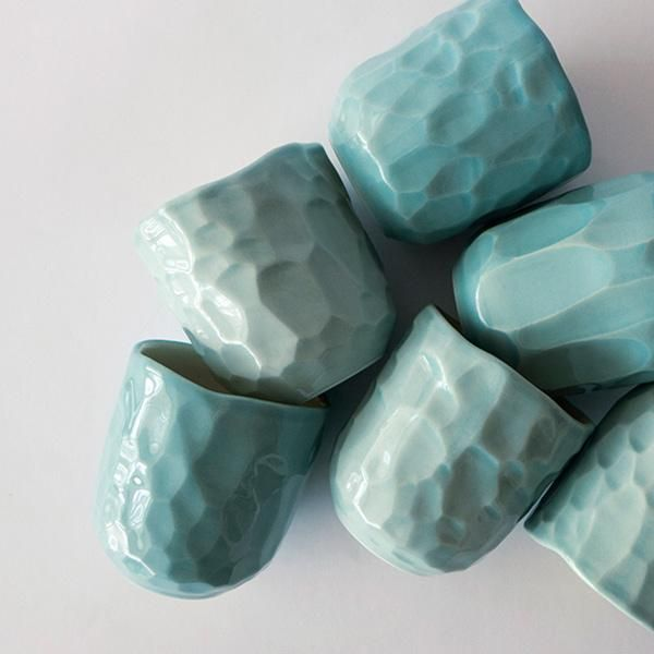 Turquoise Cup #ceramicpottery