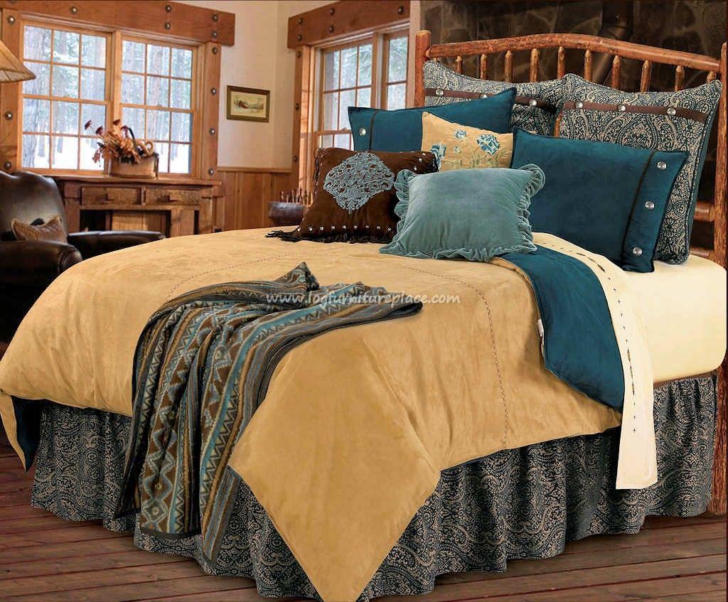 The Bella Vista Southwestern Bedding Cabin Decor