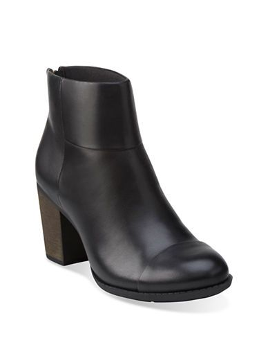 Shoes | Comfort Shoes | Clarks Enfield Tess Leather Ankle Boots | Hudson's  Bay