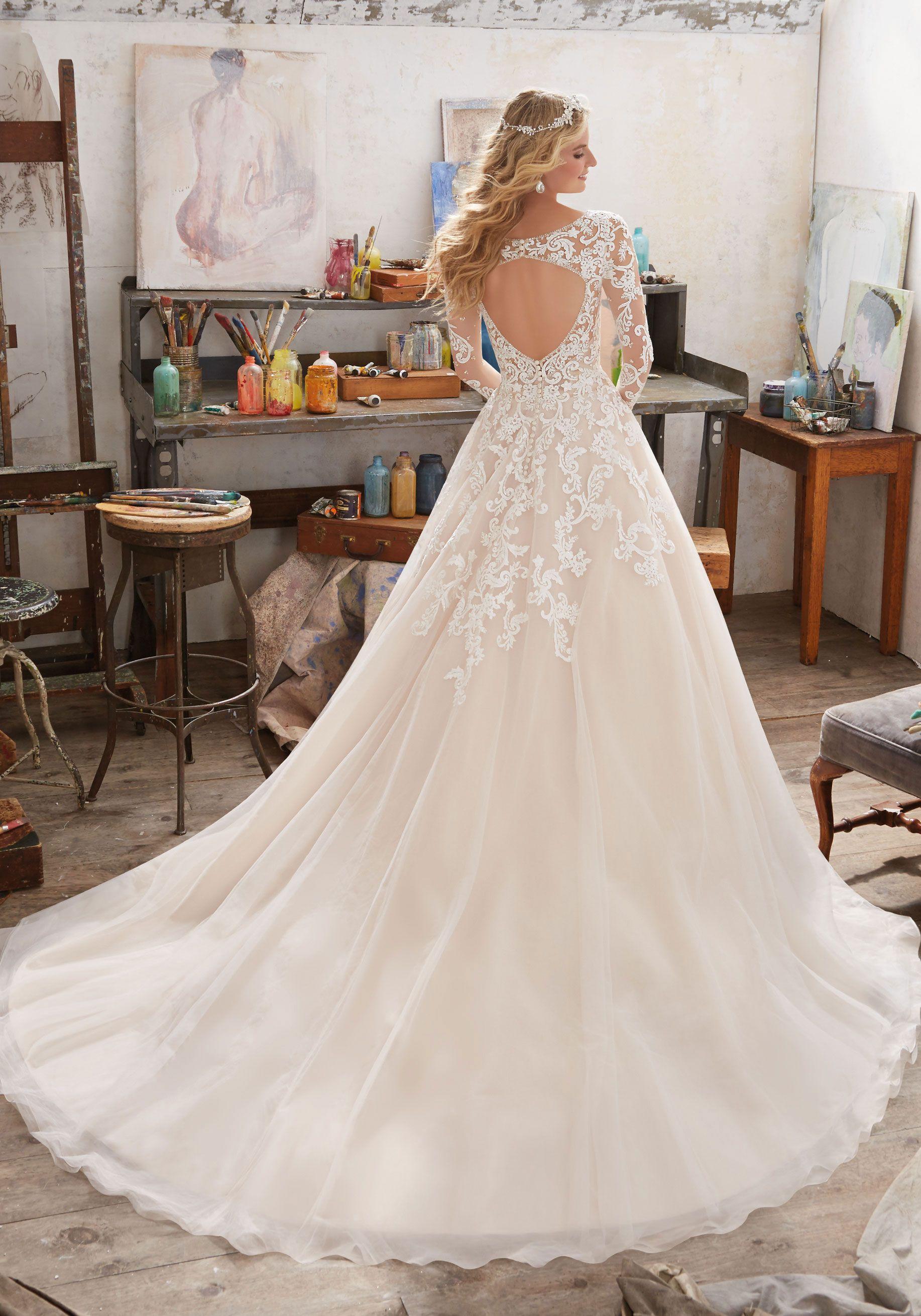 Maira Wedding Dress Morilee Mori Lee Wedding Dress Wedding Dresses Ball Gown Wedding Dress [ 2620 x 1834 Pixel ]