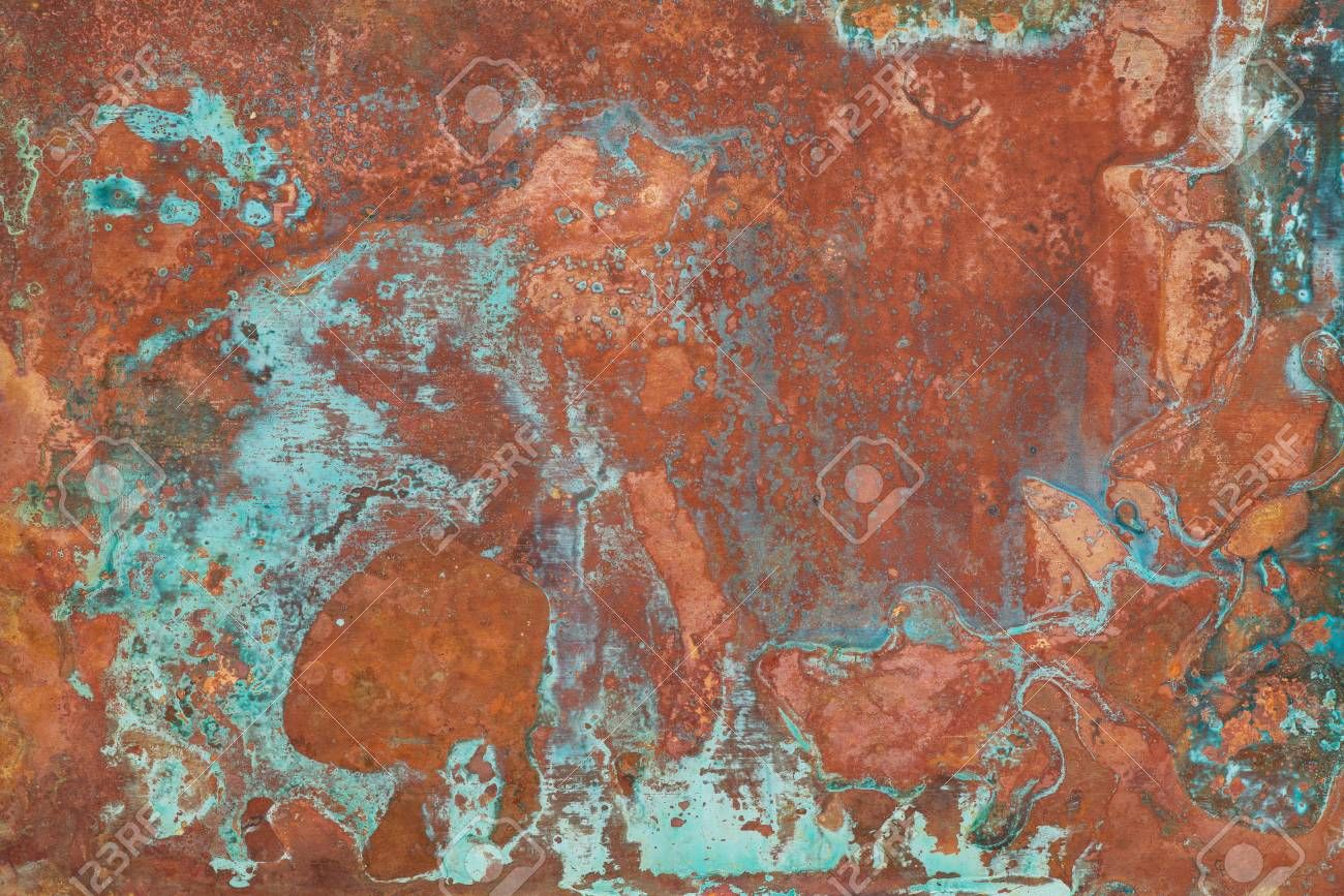 how to patina copper brown