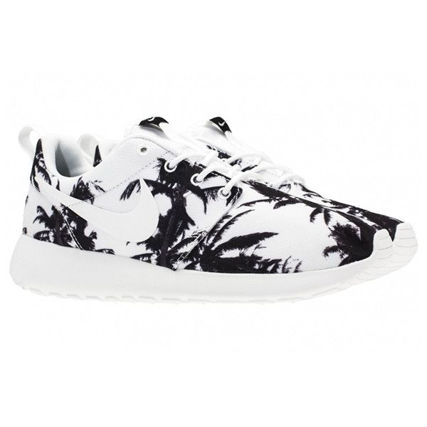 49a737d7f3ff NIKE ROSHE RUN (PALM TREES) Sneaker Freaker ❤ liked on Polyvore featuring  shoes and