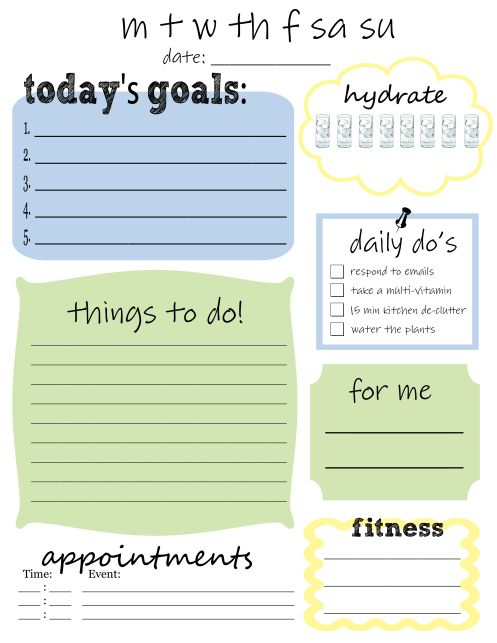 My Top 3 (Free) To-Do List Templates Planners, Bullet and Journal