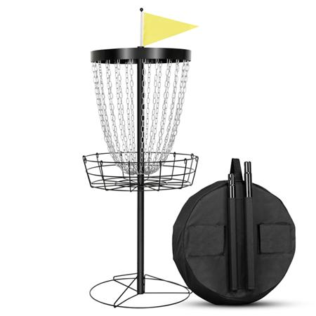24 Chain Portable Disc Golf Basket Disc Golf Target With Carrying Bag Walmart Com Disc Golf Basket Portable Disc Golf Basket Disc Golf