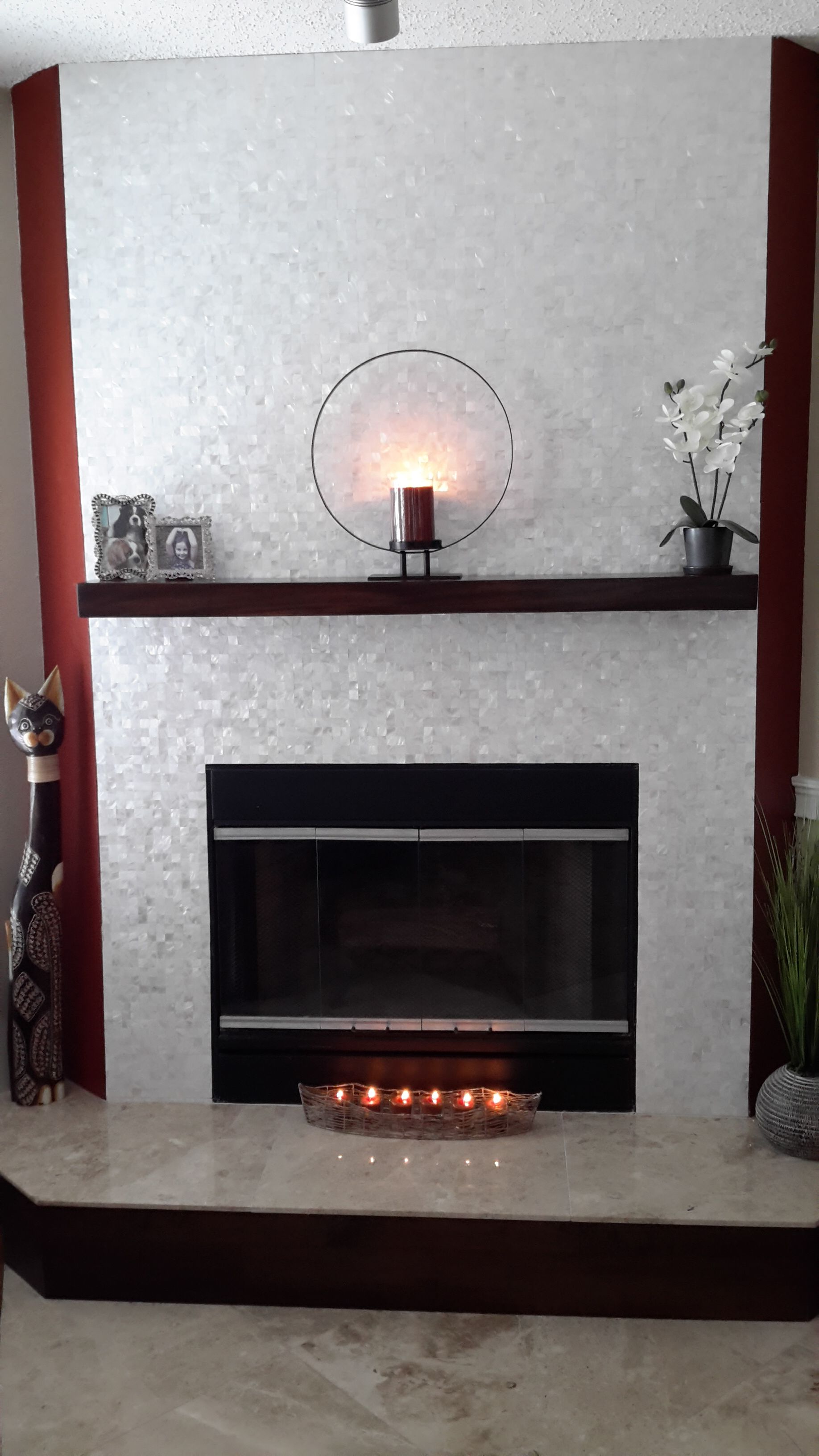Pin By Subway Tile Outlet On Fireplace Fireplace Tile Surround