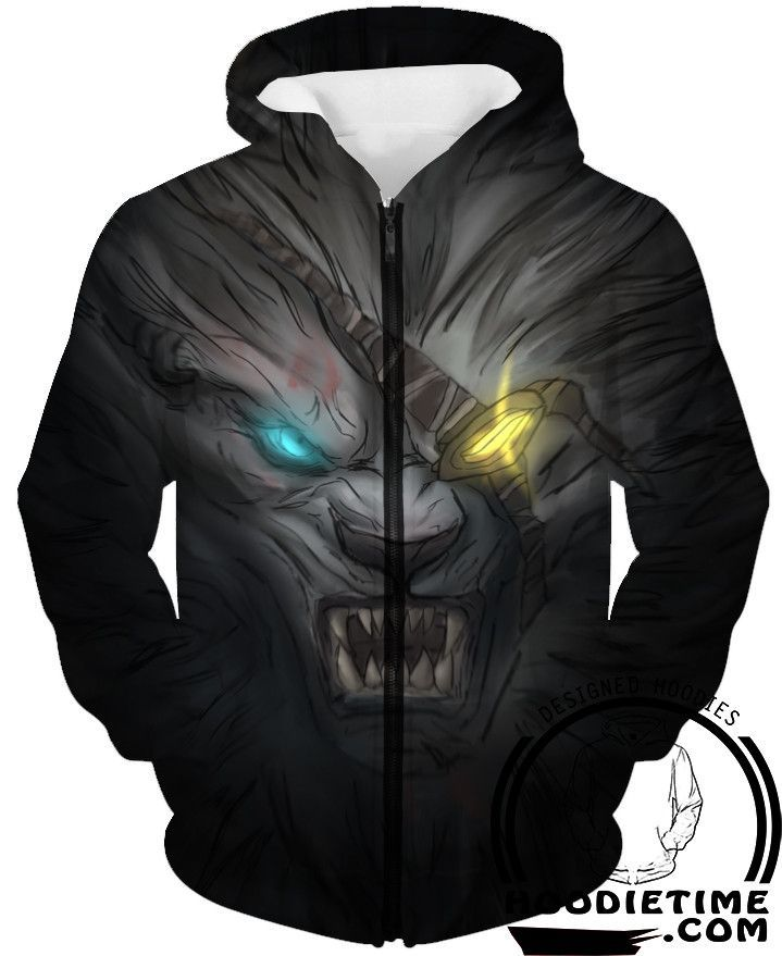 League Of Legends Rengar Face Hoodie 3d Pullover Clothing Lol Hoodies League Of Legends Hoodie 3d Hoodies