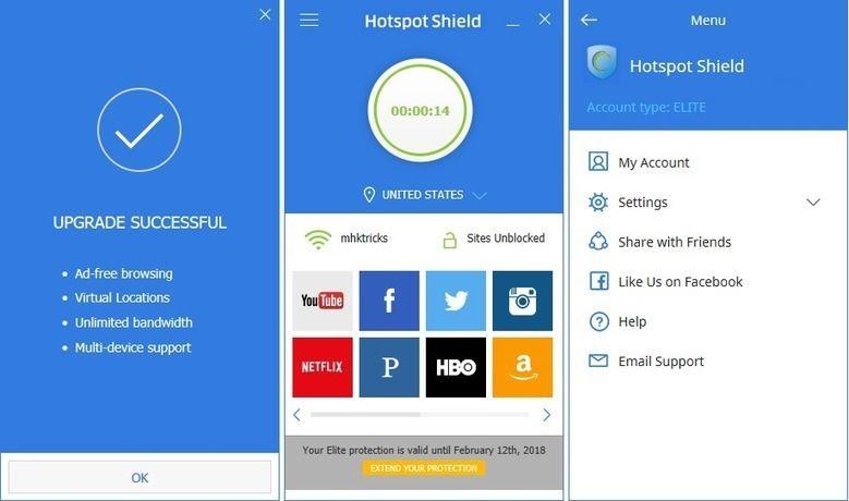 Hotspot Shield Elite v5 20 21 Apk For Android Mobiles