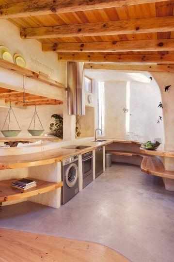 Maison de vacances au Portugal près de Sintra Design kitchen - deco maison cuisine ouverte