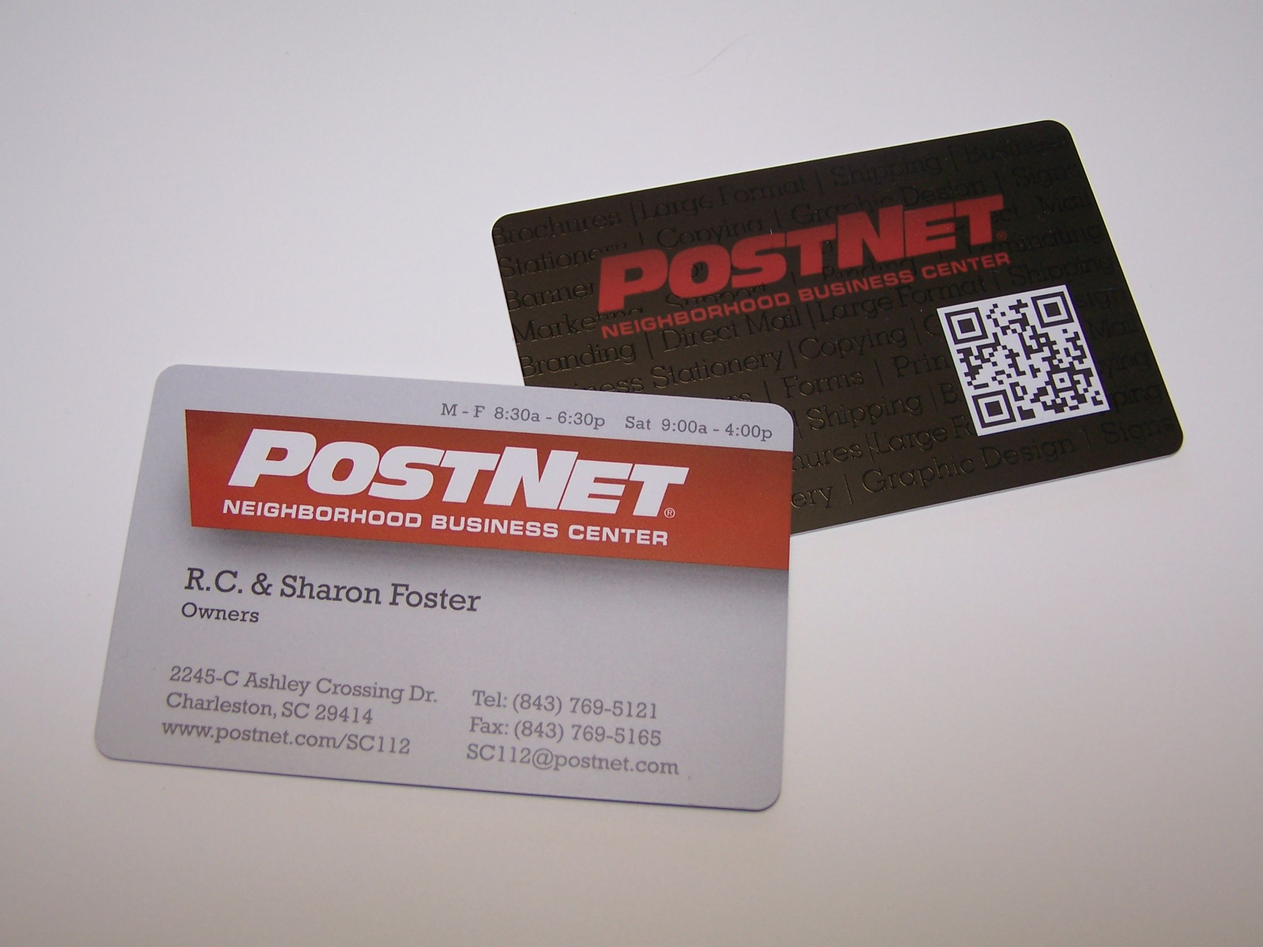30 Mil Plastic Business Cards! Same thickness as your credit cards ...