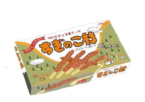 昭和 懐かしいチョコレート:明治製菓 すぎのこ村 | チョコレート ...