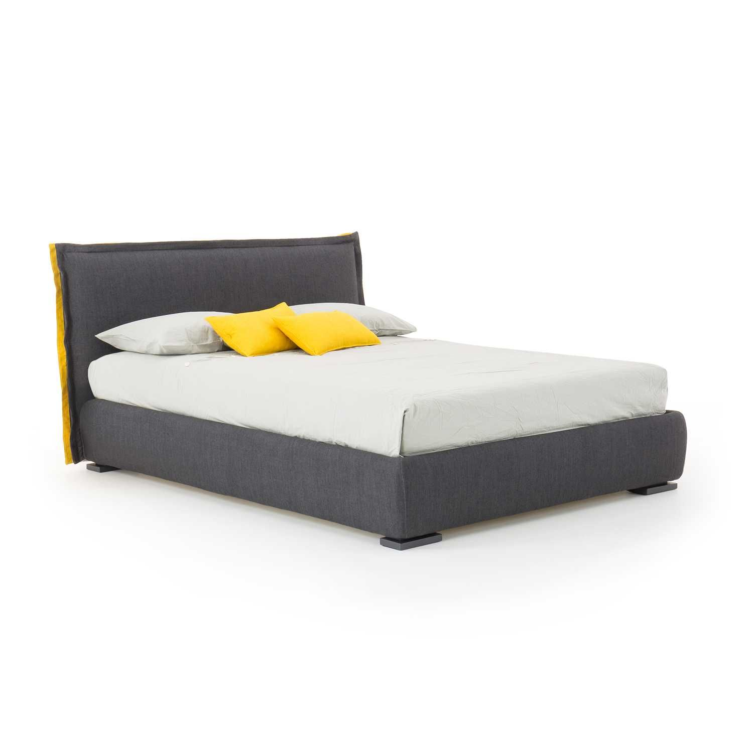 Charme Two Tone Bed With High Headboard Diotti Com High Headboard Beds Headboard Bed