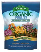 Espoma Organic Perlite Is All Natural 100 Pure Loosens Soils