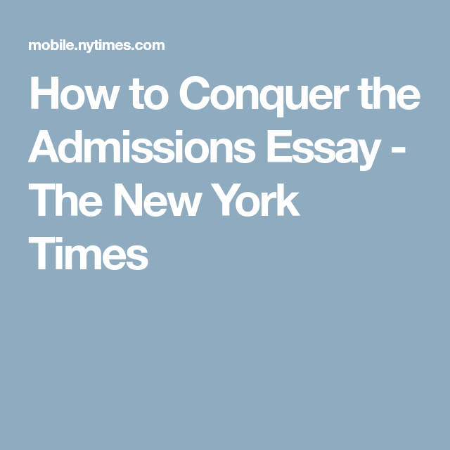Nyu college admissions essay