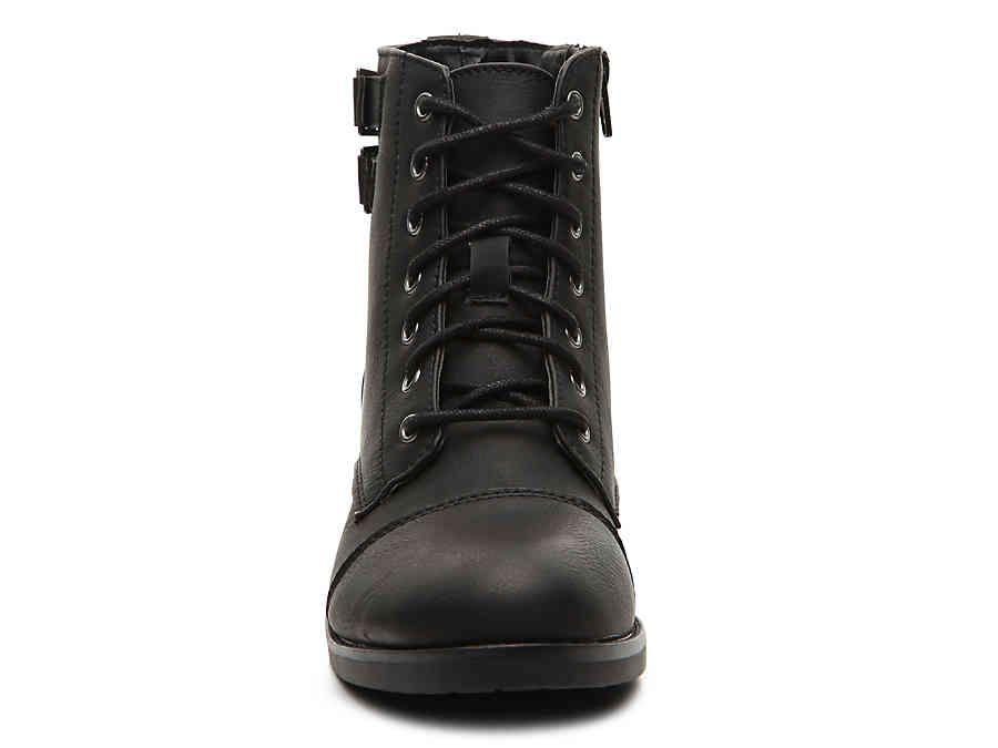 Madden Girl Flint Combat Boot | Boots