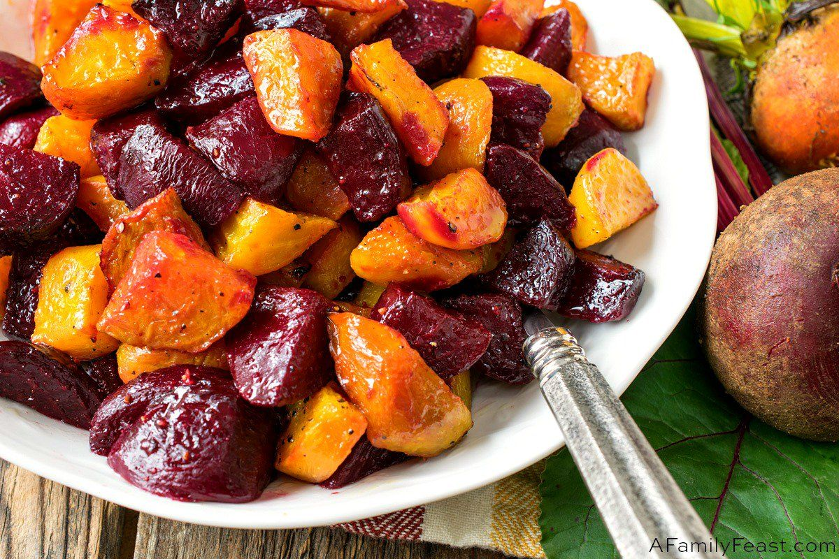 Made with red or golden beets or a mix of both colors