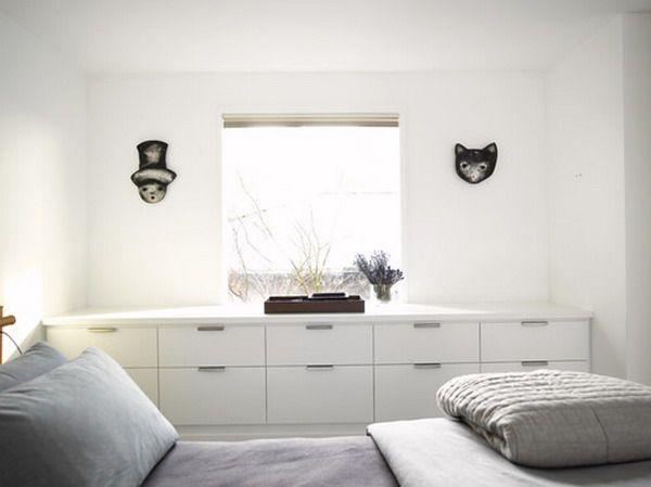ikea schränke nordli | wohnideen einrichten | schlafzimmer ... - Wohnideen Small Arbeitszimmer