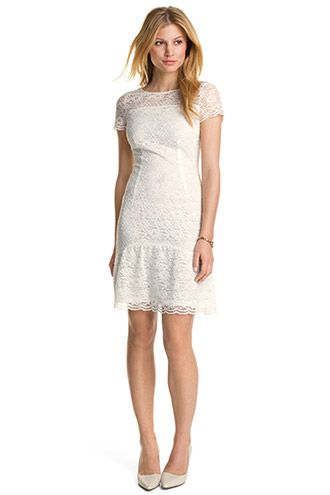 Esprit   lace dress with a hem frill £75  a3aebe31697