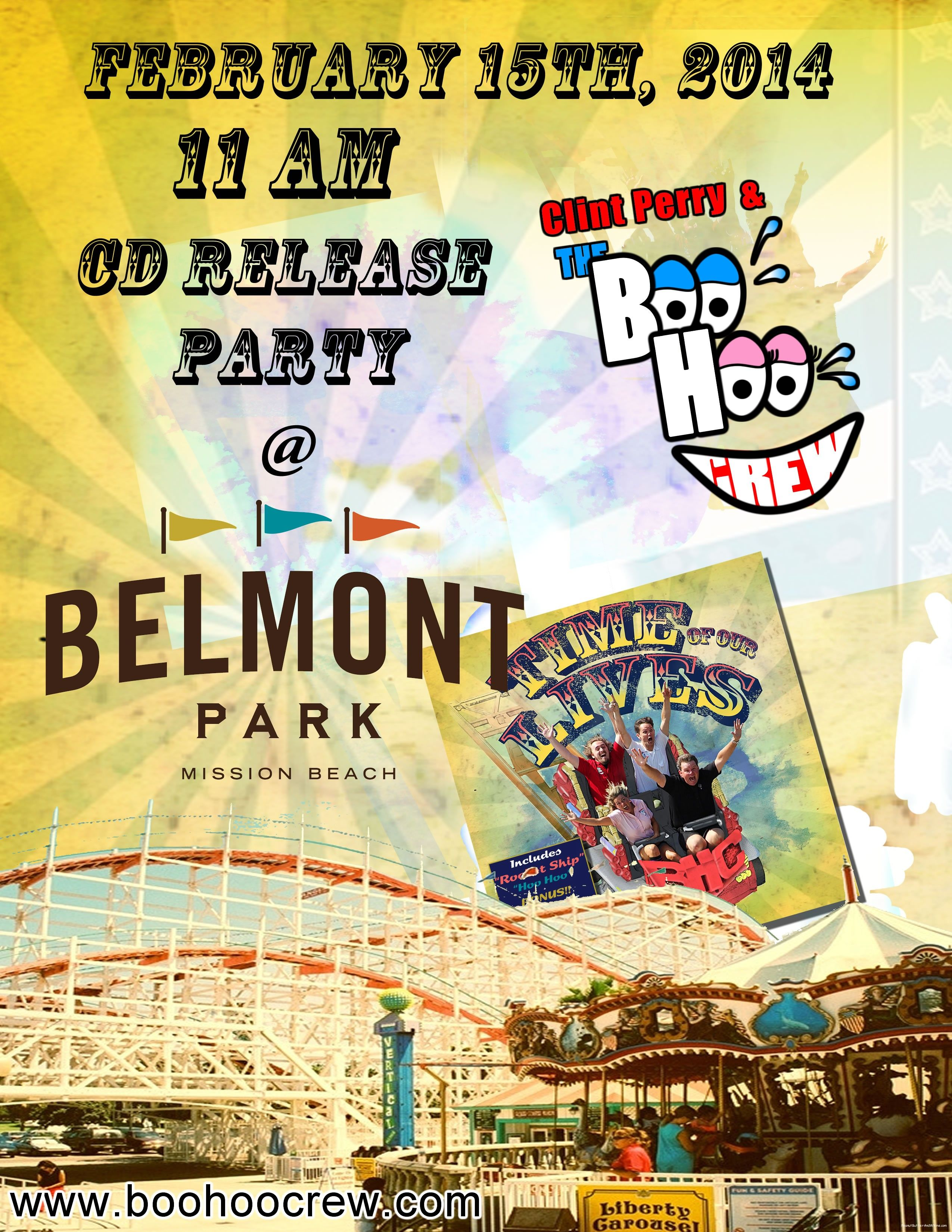 Clint Perry & The Boo Hoo Crew CD GIVEAWAY!!! -   BLOGS