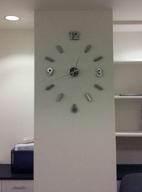 Amazon Com Self Design Modern Contemporary Abstract Wall Clock