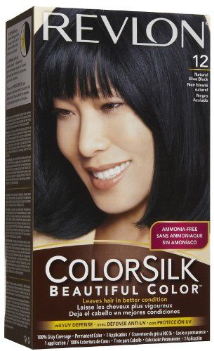 Revlon Colorsilk 12 Natural Blue Black Dollar General 4