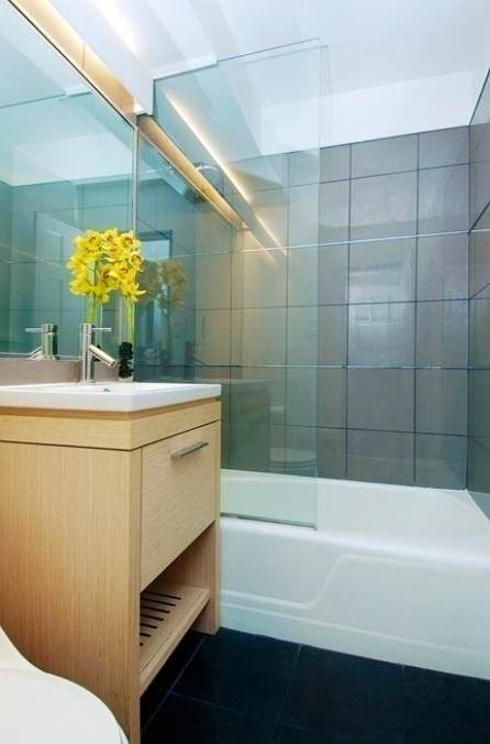5x8 small bathroom in NYC