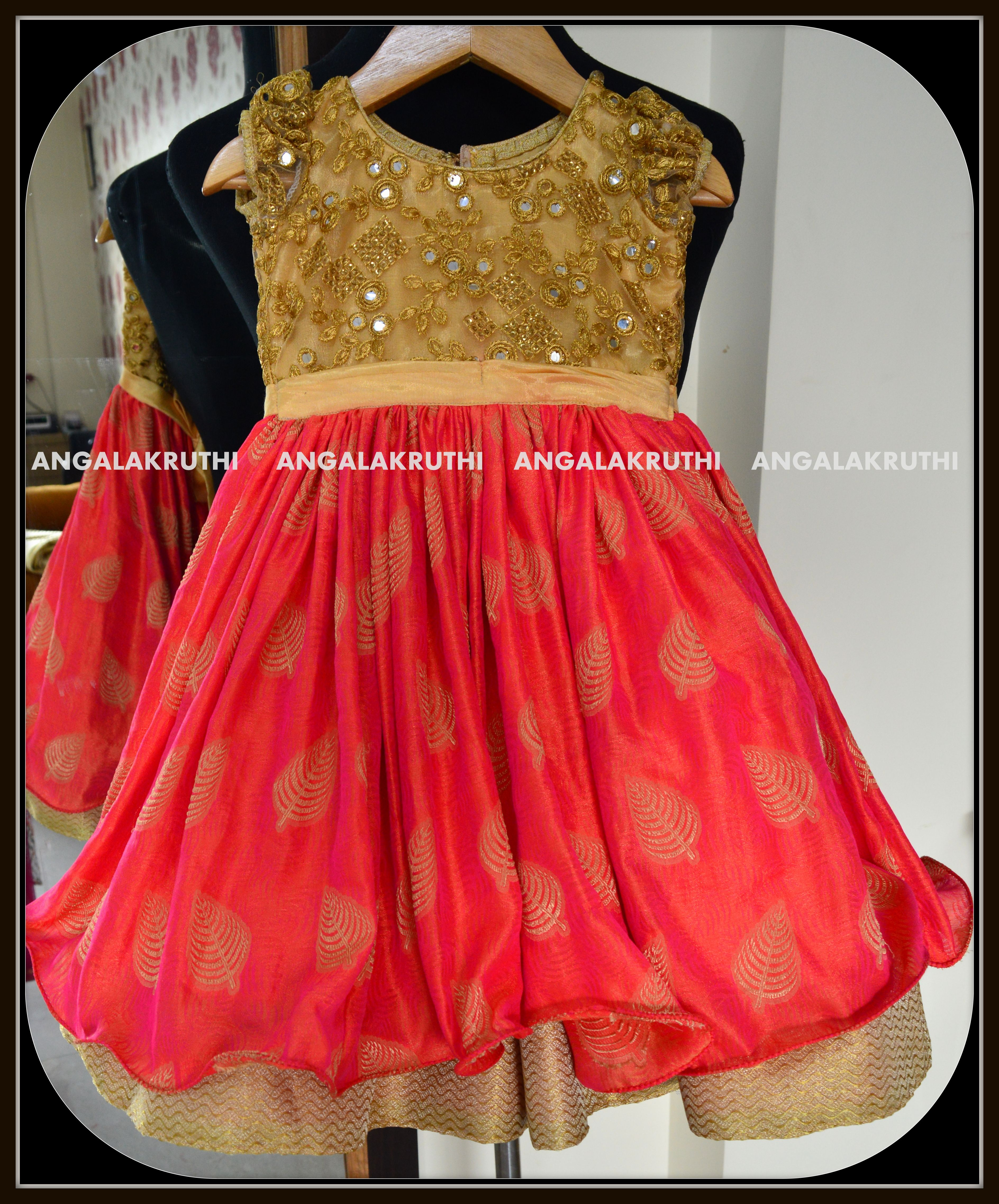 56b1982b313 Kids Frock designs by Angalakruthi--Bangalore #Custom designs with online  service