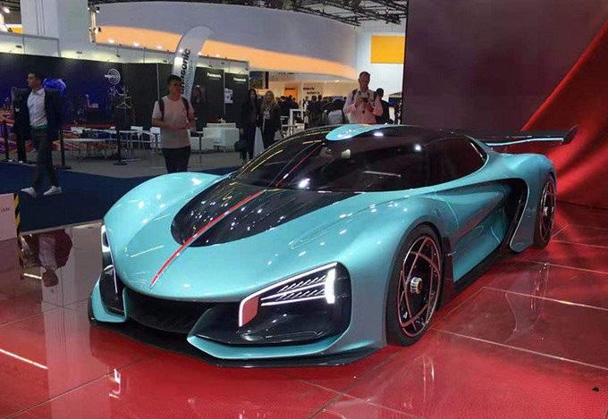 China S Bugatti The Chinese National Car Brand Hongqi Debuted Hongqi S9 A Concept Supercar At Frankfurt