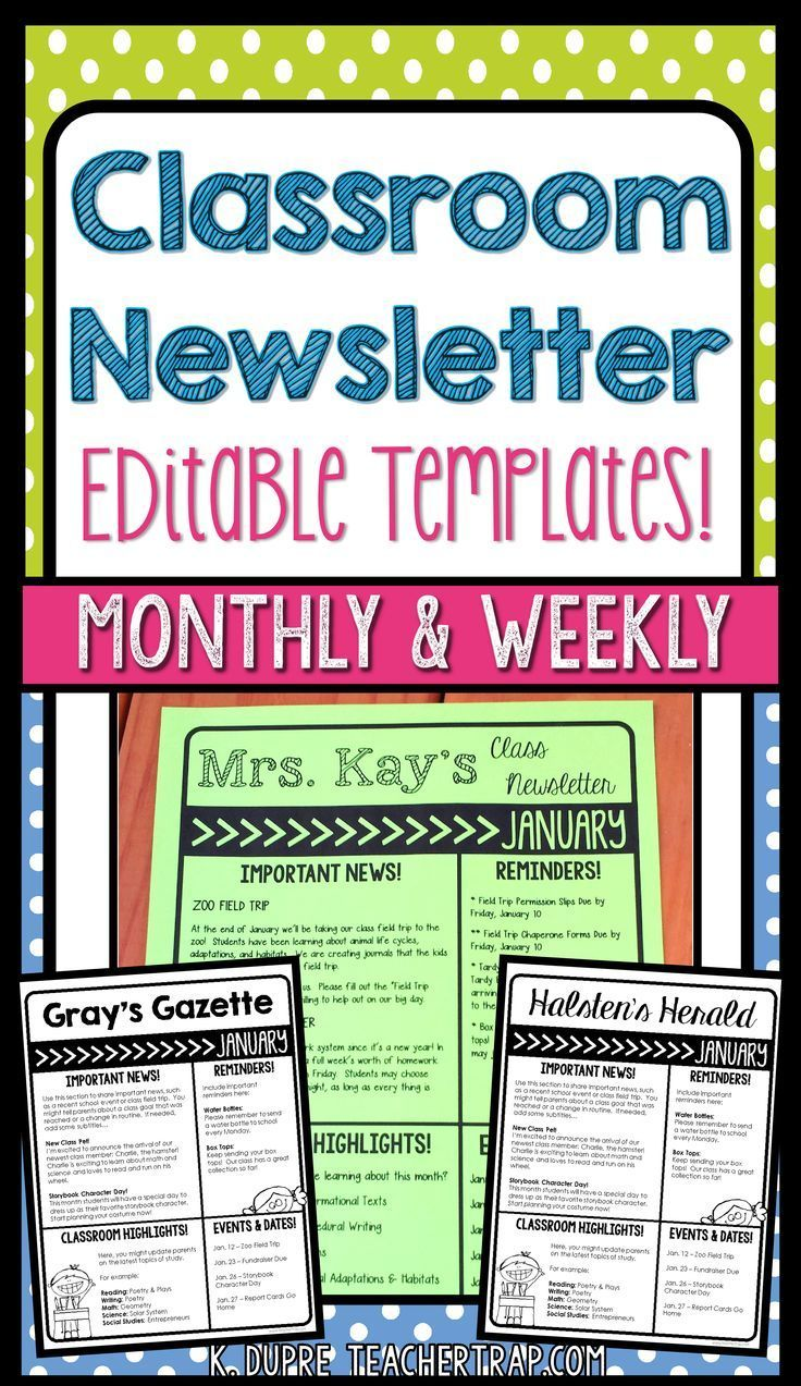 fourth grade, podcast email, downloadable classroom, free printable preschool, for business, on 3rd grade weekly newsletter template