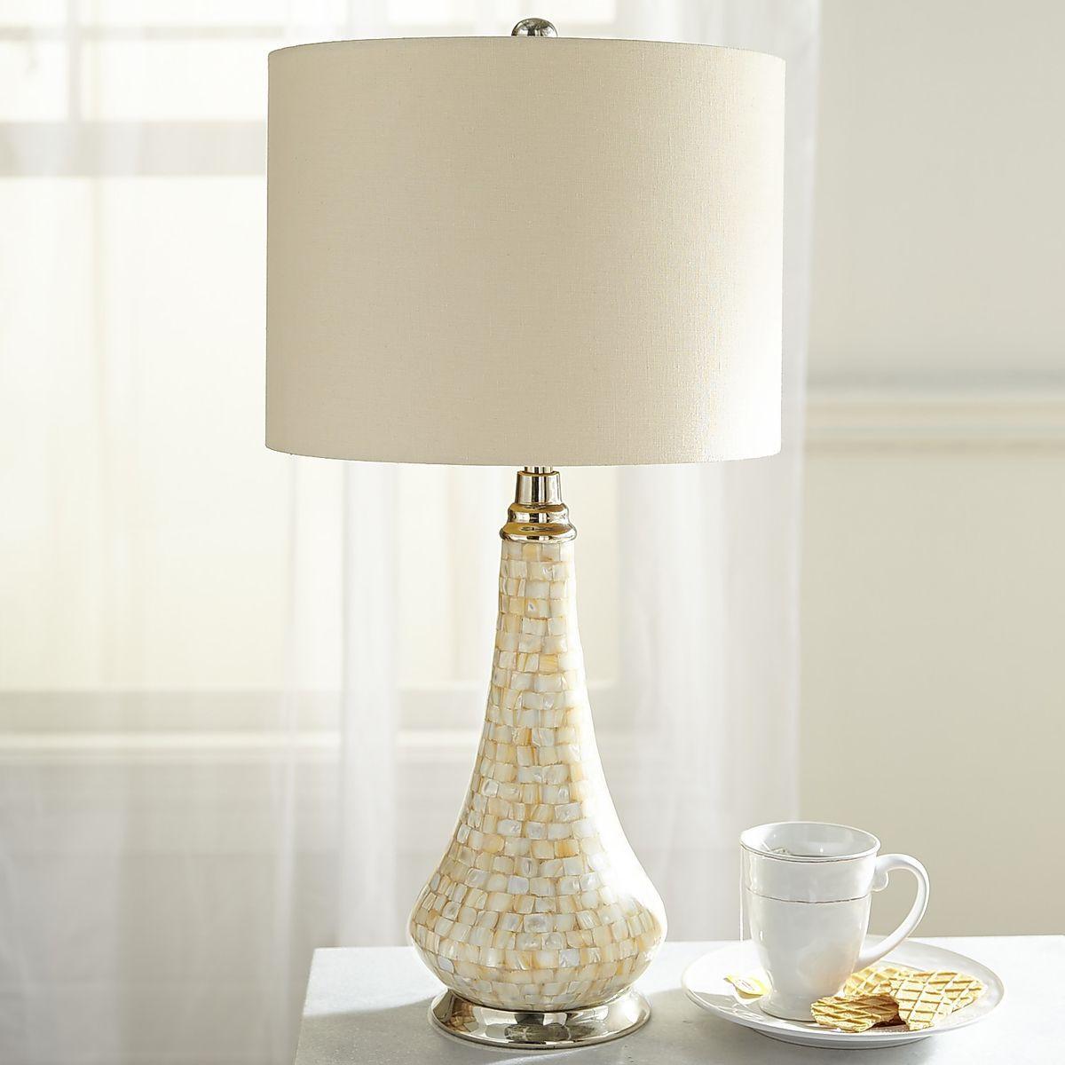Safavieh Lighting 22-inch Nikki Sea Shell Table Lamp Set Of 2