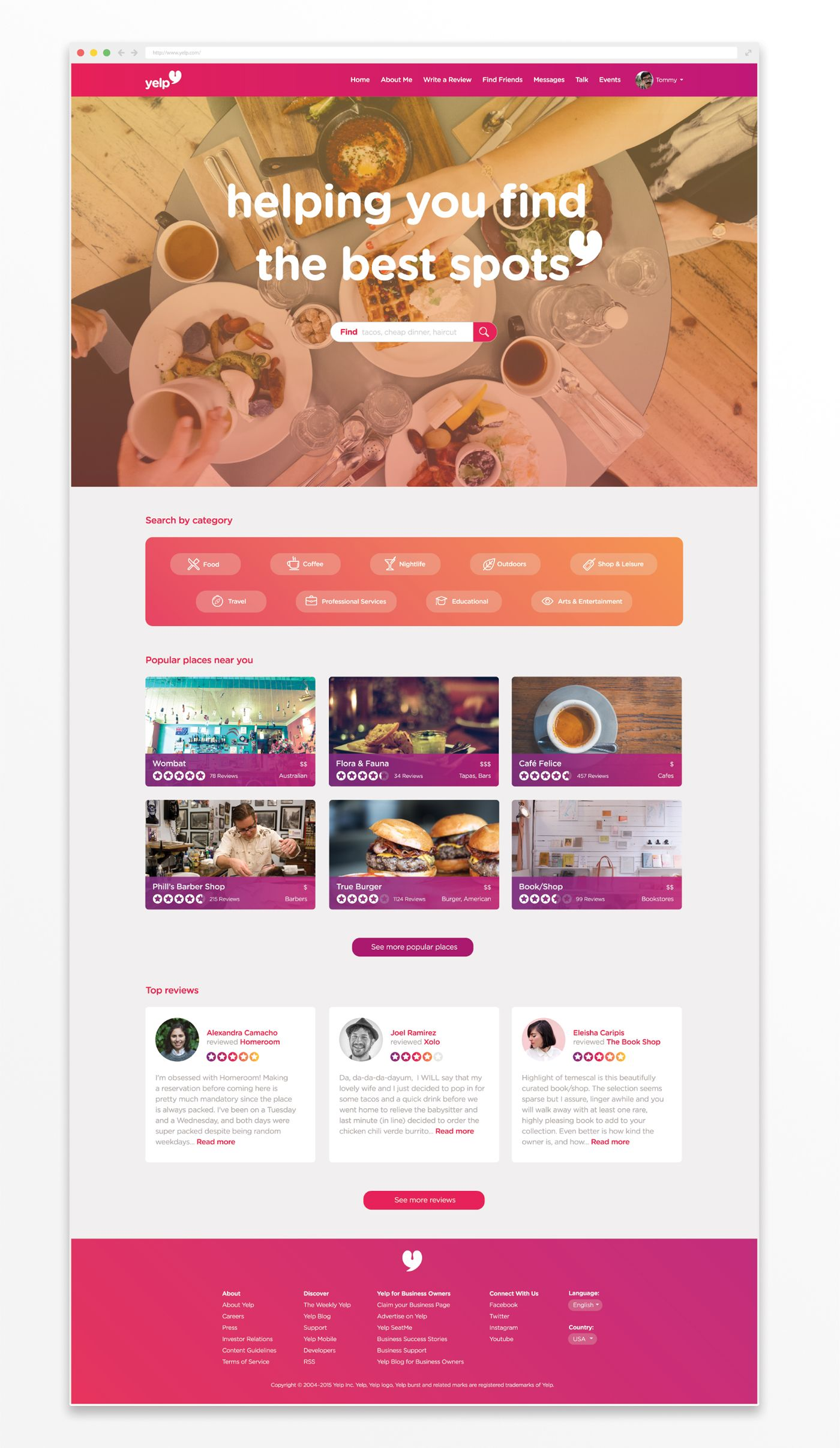 Yelp Rebrand Concept on Behance in 2020 (With images