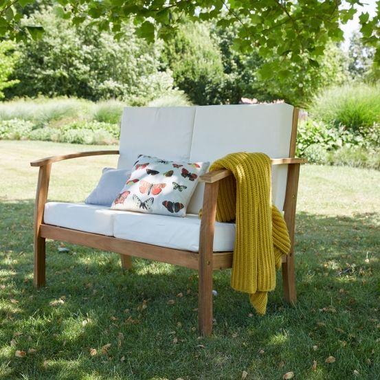 Salon bas de jardin en bois d\'acacia FSC HANOÏ en 2019 ...