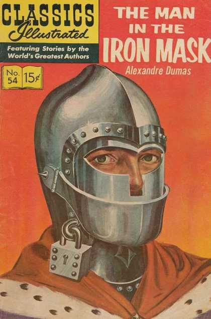 Alexandre Dumas - Classics Illustrated - The Man in the Iron Mask